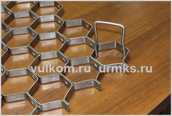 ГК Сфера производит гексагональную сетку в Челябинске